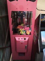 arcade redemption toy claw crane machine working