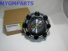 SILVERADO CHROME 8 LUG HUB CAP 2500HD 3500HD 1999-2007 NEW OEM 9597169