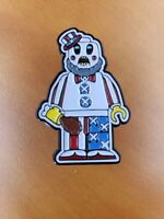 Captain Spaulding Sid Haig 'lego' horror enamel pin SOLD OUT Rob Zombie