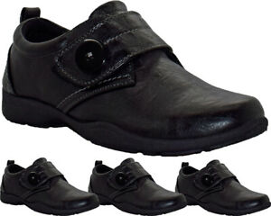 Ladies Dr Keller Cushioned Hospital Nurse Shoes Womens Flat Low Wedge Work Boots