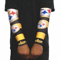NFL Pittsburgh Steelers Strong Arm Fan Sleeve Set Of Two