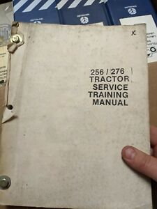 NEW HOLLAND Ford 256 276 tractor service training manual