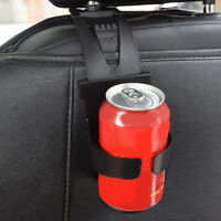 Vehicle Car Auto Door Seat Back Scalable Black Drinks Water Cup Bottle Holder SR