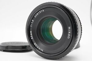 [MINT] Nikon Ai-s 50mm f/1.8 MF Pancake Lens For F Mount From Japan