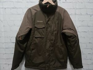 Columbia Convert Hooded Boys Youth Winter Ski Snow Jacket XL (18-20) Olive Green
