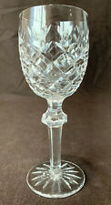 "Waterford Crystal Powerscourt Claret Wine Glass Sold Individually 7 1/8"" H"