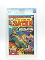 Son of Satan #1 Marvel Comics 12/75 CGC 8.5 VF+ Free Shipping
