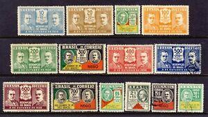Brasilien/Brazil - Satz Revolutionsführer von 1931