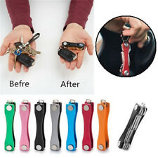 Aluminium Smart Key Holder Keyring Organizer Pocket Keychain Pocket Tool