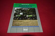 Deutz Allis Chalmers 6265 6275 Tractor Dealer's Brochure AMIL4