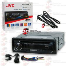 JVC KD-TD90BTS 1-DIN CAR AUDIO CD USB BLUETOOTH STEREO FREE 3.5mm AUX CABLE