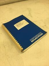 Cincinnati Milacron Operating Manual for Sabre/Arrow Vmc's, w/2100E, 91202934