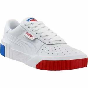 Puma Cali Rwb Lace Up  Womens  Sneakers Shoes Casual   - White