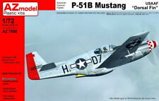"AZ Model 1/72 North-American P-51B Mustang USAAF ""Dorsal  Fin"" # 7588"
