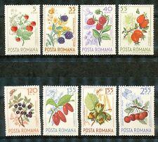 Roemenië 2361 - 2368 postfris  motief Vruchten