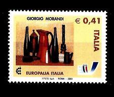 ITALIA REP. - 2003 - Europalia Italia 2003 - 0,41€ Natura morta opera Morandi