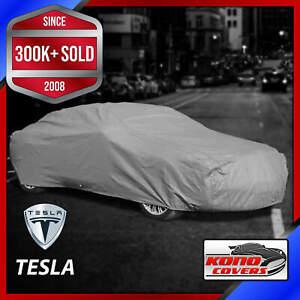 TESLA [OUTDOOR] CAR COVER ✅ All Weatherproof ✅ 100% Full Warranty ✅ CUSTOM ✅ FIT
