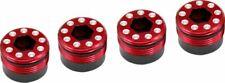 Hot Racing - Aluminum O-Ring Delrin Cap Hub (Red), for Arrma 1/5