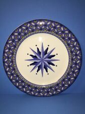 4 Victoria & Beale Williamsburg 9026 Dinner Plates Starburst