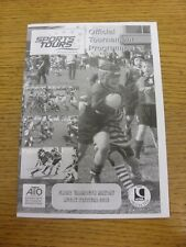 05/05/2012 Rugby Union programme: SPORTS Tours-Great Yarmouth Mayday Festival