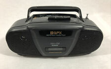 GPX AM/FM Radio Cassette Player C400S Mini Portable Player