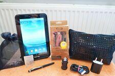 Samsung Galaxy TAB 2 P3100 F NEZ l 7 Zoll schwarz Black XXL SET  l WLAN SIM 3g