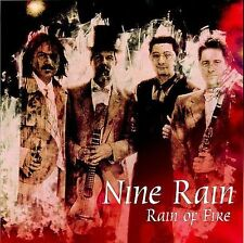 Nine Rain Rain of Fire  (CD, Oct-2003, Liquid 8) Steven Brown (Tuxedomoon) seal