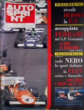 Autosprint 31 1972 Poster piloti italiani sulla 312. Coppia Ferrari in Germania