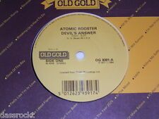 """7"""" - Atomic Rooster / Devil´s Answer & Tomorrow Night - UK 1984 # 0767"""