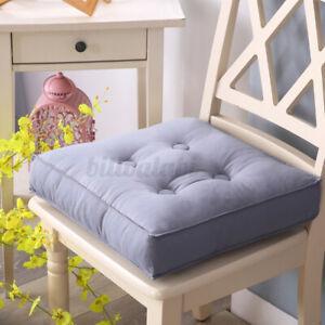 15.7inch Thicken Square Chair Cushion Patio Tatami Meditation Mat Seat Yoga Pa