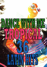 DANCE WITH ME TROPICAL 36 VIDEO HITS MUSIC VIDEOS DVD REGGAETON SALSA POP
