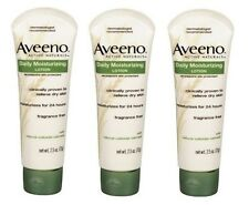 3 Pack - AVEENO Active Naturals Daily Moisturizing Lotion 2.50 oz Each