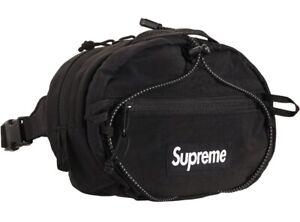 Supreme Waist Bag (FW20) Black Deadstock New