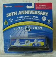 SEATTLE MARINERS MLB Baseball 2007 Train 30th Anniversary New in Package