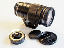 Olympus M.Zuiko Digital 40-150 mm F 2.8 PRO Objektiv inkl. MC-14 Telekonverter
