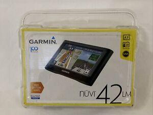 Garmin NUVI 42LM 4.3-inch Portable Vehicle GPS LIFETIME MAPS NEW SEALED!