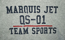 Rare Marquis Jet Partners Aviation QS-01 Team Sports New Unused Grey T-Shirt XL