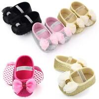 Baby Girls Glittering Toddler Infant Soft Sole Newborn Princess Shoes 3-11 Month