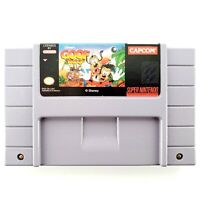 Disney's Goof Troop (Super Nintendo, 1993) Authentic Cartridge Only Tested Works