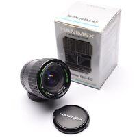Hanimex HMC 28-70mm f/3.5-4.5 Lens with P/K A/R Pentax Mount