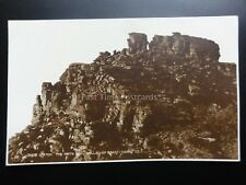 Devon: LYNTON The White Lady in the Valley of Rocks c1932 RP Pub by Judges Ltd