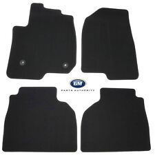 2019 Silverado Sierra Next Gen Front & Rear Carpet Floor Mats 84519750 Black OEM