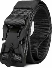 IDEATECH Tactical Belt for Men, Military Nylon Belt with Magnetic Quick Release