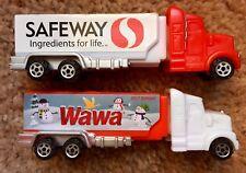 Pez 2017 WaWa & Retired Safeway Advertising Haulers - Both Mint