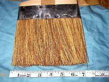 Vintage LARGE 15 INCH Paintbrush Wood Handle Primitive Old Decor NOS Whisk Broom