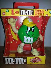 Distributeur M&M's RARE baseball vert sport en boite Vintage Dispenser