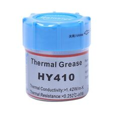 10g HY410-CN10 Thermal Grease CPU Chipset Cooling Compound Silicone Paste 1.42W