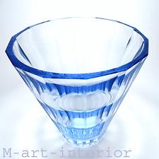 Art Déco Glas Vase Facetten Schliff ELIS BERGH für Kosta Glasswork Sweden 1936