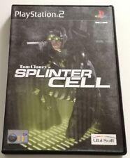 SPLINTER CELL 1 TOM CLANCY S PS2 ITALIANO PLAYSTATION 2 SPED GRATIS SU +ACQUISTI