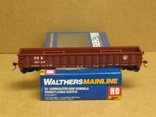 Walthers 910-6071 HO PRR 53' Corrugated-Side Gondola #387819